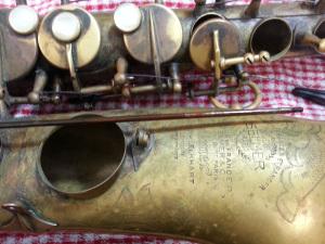 Mark Six Rusted Rod